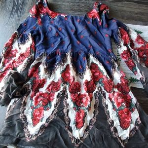 Free people romantic tunic dress
